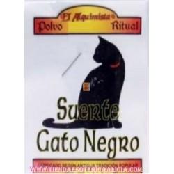 POLVOS DE LA SUERTE DEL GATO NEGRO
