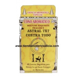 INCIENSO CONO ASTRAL 7X7 CONTRA TODO