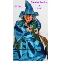 Muñeca Bruja Dorothy Figura Camina, Sonido y Luz